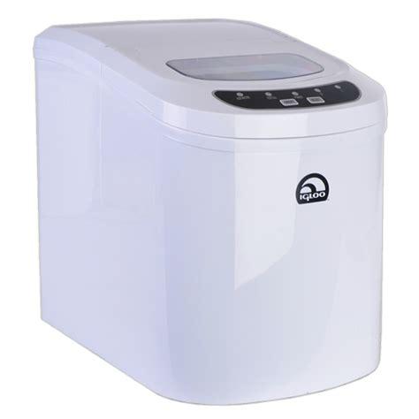 igloo portable countertop maker refurbished and used hardware igloo ice102c white