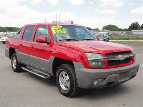 how make cars 2002 chevrolet avalanche 1500 parking system purchase used 2002 chevrolet avalanche 1500 in 2381 u s hwy 441 27 fruitland park florida