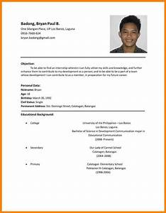 11  Resume Samples Philippines