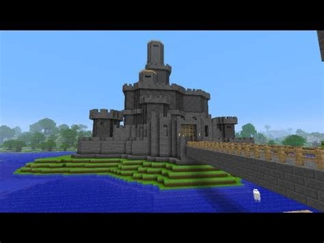 siege on castle steve minecraft lets build castle part 4 the derpy prison