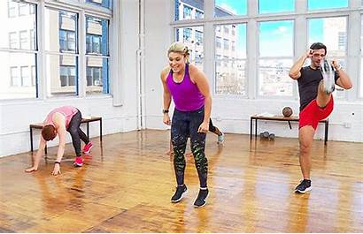 Kickboxing Workout Dailyburn Kicks Kick Jab Burpees