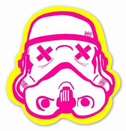 Sticker Stickers Trooper Yellow Popular Popart Funny
