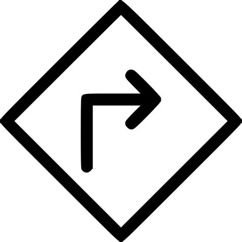 Download 115,434 road sign free vectors. Road Sign Right Svg Png Icon Free Download (#514203 ...