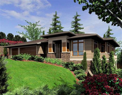contemporary prairie style house plans ideas luxamcc modern prairie style home plan 6966am architectural