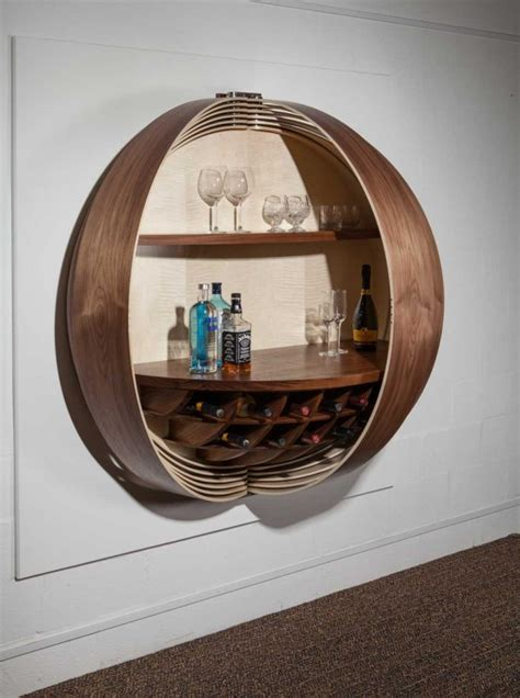 Wall Mounted Bar Cabinets For Home by This Gorgeous Wall Mounted Bar Cabinet Is A Show Stopping