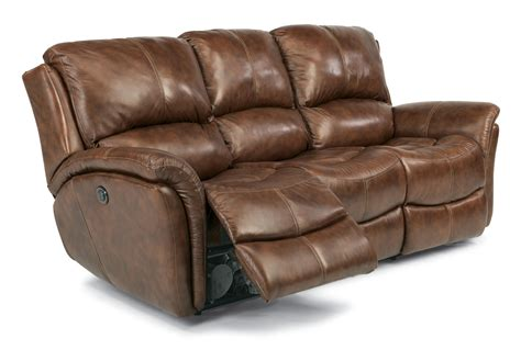 flexsteel latitudes power reclining sofa flexsteel latitudes dominique casual reclining sofa with
