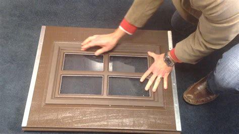 garage door plastic window inserts replacements clopay garage door classic collection snap in decorative