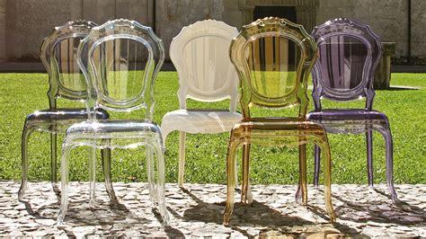 chaise plexi pas cher chaise baroque couleur
