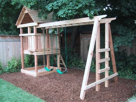 Backyard Play Structure by Best 20 Play Structures Ideas On Outdoor Play