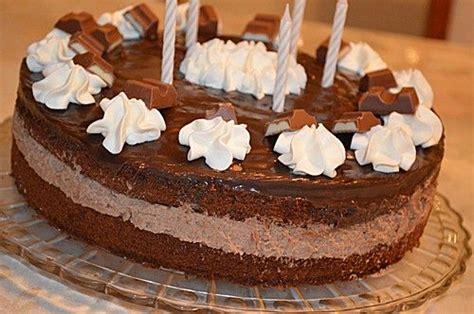 torte aus kinderschokolade kinderschokolade torte ein leckeres rezept aus der