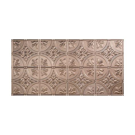 fasade ceiling tiles home depot fasade traditional 2 2 ft x 4 ft glue up ceiling tile