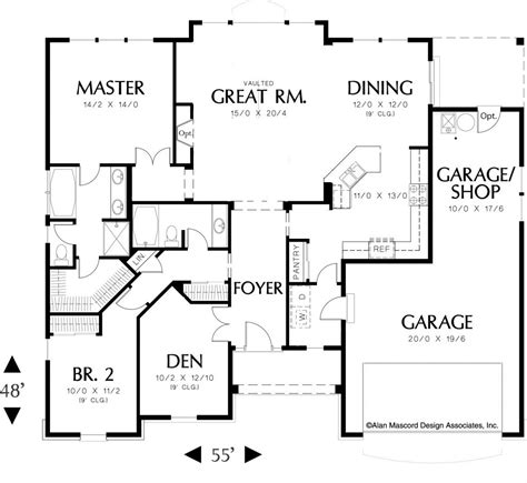 one level house plans with basement floor plan for single level house plans one bedroom