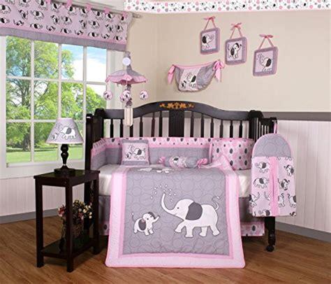 416 baby bedding boutique boutique pink gray elephant 13pcs crib bedding sets a