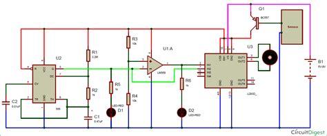 Automatic Rain Sensing Wiper Circuit Using Timer