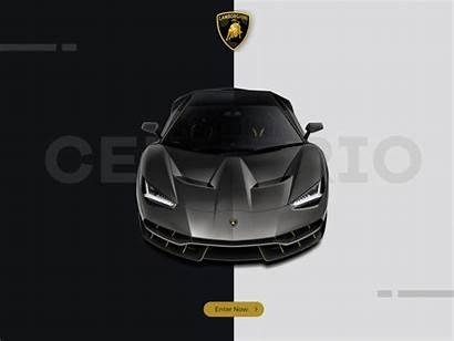 Lamborghini Centenario Concept Web Dribbble Javascript Enabled