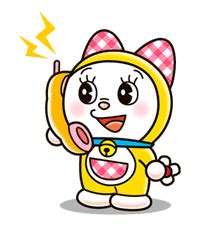 Fantastis 30 Foto Doraemon Dan Dorami Koleksi Rial