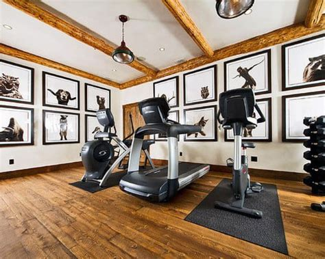 40 Personal Home Gym Design Ideas For Men - Workout Rooms