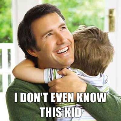 Funny Dad Memes - honest stock photography