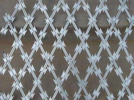 galvanized razor wire upgrading security level