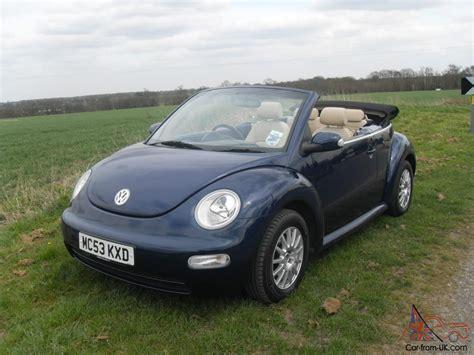 Volkswagen Beetle 2003 by 2003 Volkswagen Beetle Cabriolet Blue