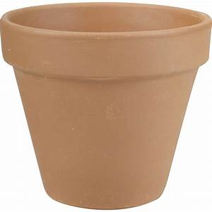 Pot De Fleur Grande Taille : pot de fleur terre cuite jardin sur enperdresonlapin ~ Teatrodelosmanantiales.com Idées de Décoration