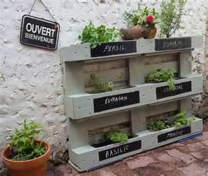 Fabriquer Un Bac Potager Avec Des Palettes : vos id es deconome au jardin sur instagram t 2018 ~ Louise-bijoux.com Idées de Décoration