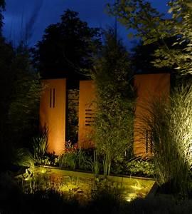 Beleuchtung Für Den Garten : rost cortenstahl zinsser gartengestaltung schwimmteiche und swimmingpools ~ Sanjose-hotels-ca.com Haus und Dekorationen