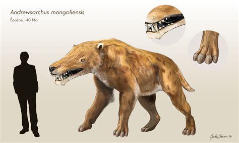 andrewsarchus mongoliensis reconstruction cjean loup