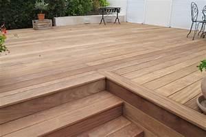 Escalier Terrasse Bois : terrasse en ip ~ Nature-et-papiers.com Idées de Décoration