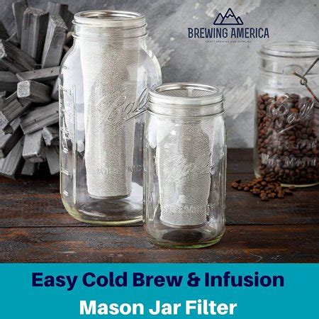 Of here we shall give tip towards the latest under the cabinet coffee makers at walmart. Cold Brew Filter for Mason Jar Wide Mouth Coffee Maker, UPGRADED Stainless Steel Mesh with ...