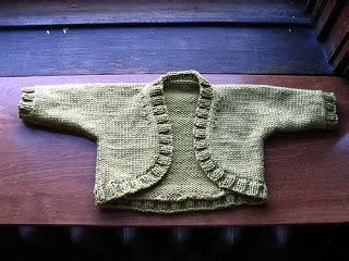 Knit Jones: Baby Shrug
