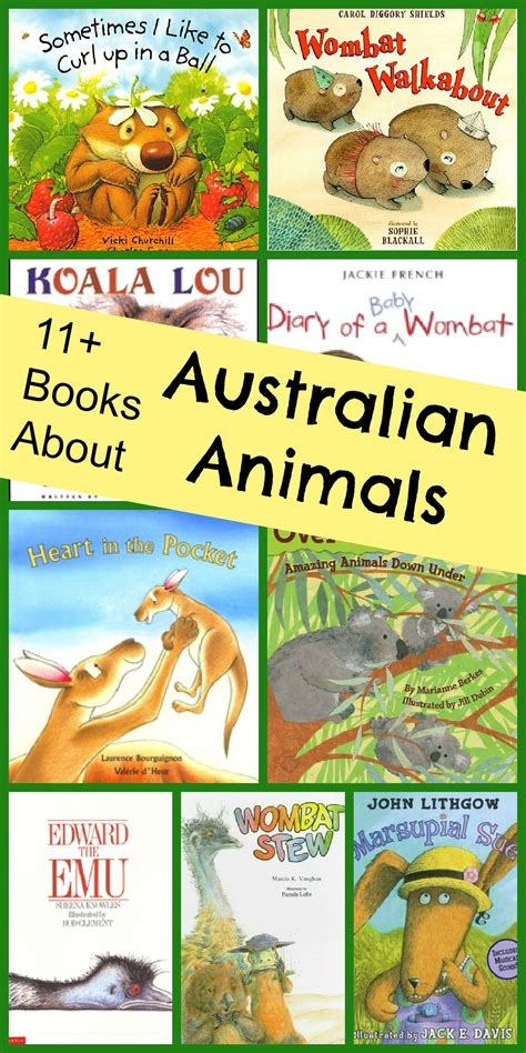 animals of australia book list 265 | Books About Australian Animals