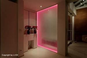 Led Stripes Ideen : milchglas plexiglas scheibe mit led stripes led anf nger forum ledstyles de sch nes ~ Sanjose-hotels-ca.com Haus und Dekorationen