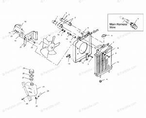 Polaris Side By Side 1999 Oem Parts Diagram For Cooling