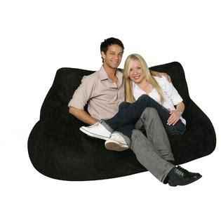 Kmart Bean Bag Chair by Bean Bag Factory 2 Seat Black Bean Bag Chair Cover