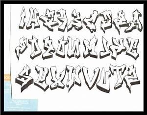 Images Of Graffiti Bubble Letters Alphabet A Z Design Summer