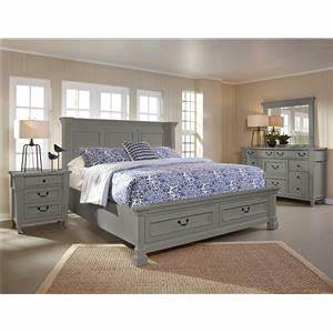 American Woodcrafters Cottage Traditions Queen Bedroom