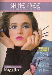 Shine-Free Mascara Ad from Teen Magazine August 1987. '80s ...