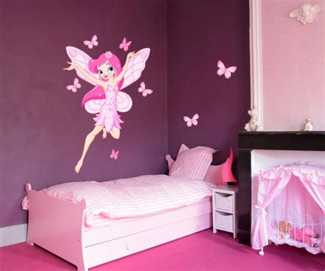 stickers muraux chambre ado fille stickers fée des papillons stickers filles