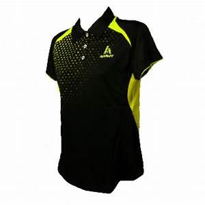 ADL 621 La s Polo Shirt Black Lime