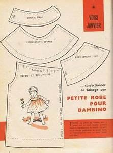 par amour des poupees 1955 12 des dessous pour bleuette With patron robe poupee barbie