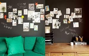 Tableau Ardoise Magnétique : papier peint magnetique tableau noir id es pour la maison pinterest papier peint ~ Dode.kayakingforconservation.com Idées de Décoration