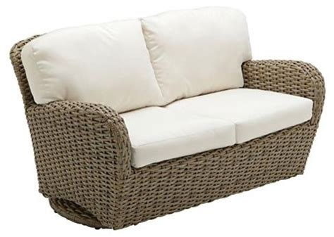 sunset deep seating outdoor loveseat outdoor glider with