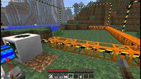 minecraft mod build craft buildcraft tutorial poradnik part pl youtube