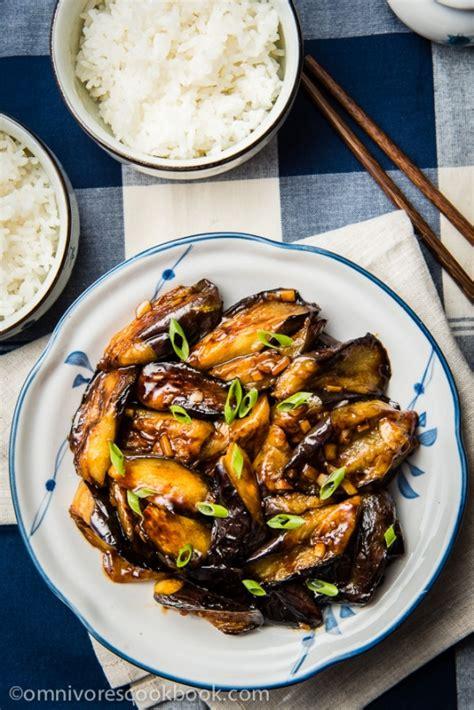 chinese eggplant  garlic sauce keeprecipes