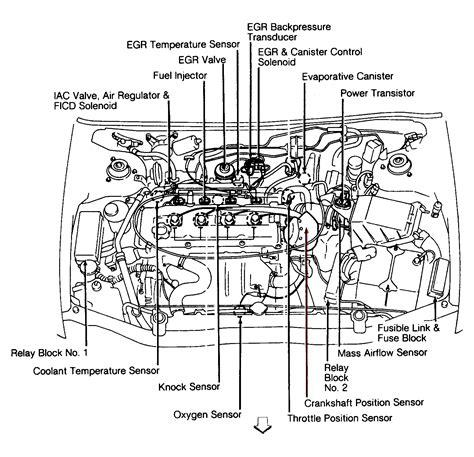 93 Altima Engine Diagram by 94 Nissan Altima Engine Diagram Downloaddescargar