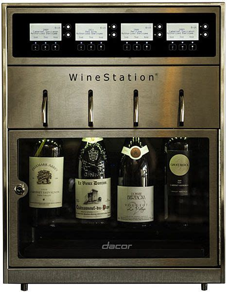 dacor wine dispenser dacor discovery stainless steel winestation dyws4 3077