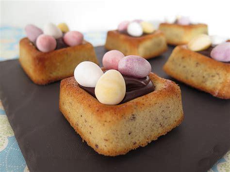 dessert avec chocolat de paques petits nids de p 226 ques au chocolat ma p tite cuisine