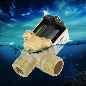 Dc12v Dn15 G1  2 Brass Electric Solenoid Valve Normally