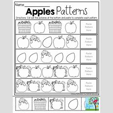 Apple Patterns! Tons Of Fun And Engaging Resources For
